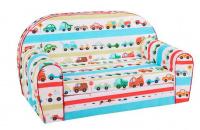 Dětská sedací rozkládací souprava auta