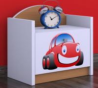 Nočný stolík motiv AUTO