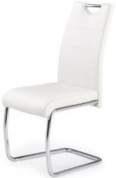 Jedálenská stolička K211 bielá