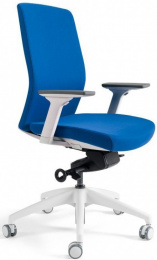 Kancelárska stolička J2 White BP