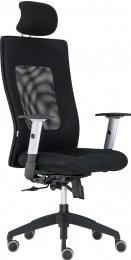 židle LEXA s nastavitelným podhlavníkem kancelárská stolička
