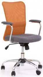detská stolička ANDY šedo-oranžová