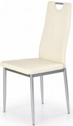 Jedálenská stolička K202 krémová