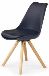 Jedálenská stolička K201 čierná