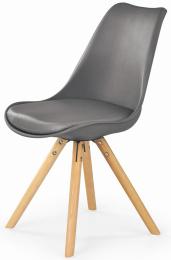 Jedálenská stolička K201 šedá