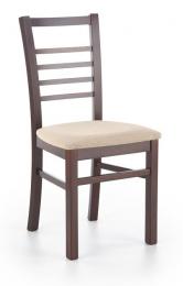 Židle ADRIAN tmavý ořech/torent beige