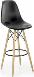 barová stolička H51 čierna