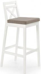 Barová stolička Borys biela