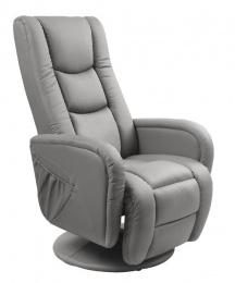 relaxační křeslo Pulsar šedé