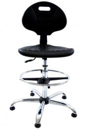 pracovní stolička FLASH - EGB 017 H light