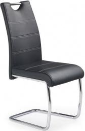 Jedálenská stolička K211 čierná