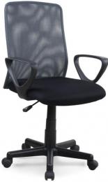 kancelářská ALEX černo-šedý