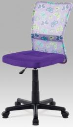 dětská židle KA-2325 PURPLE kancelárská stolička