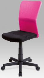 Detská kancelárska stolička KA-BORIS PINK