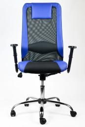 Mercury kancelarska stolička SANDER modrá