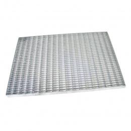 Kovová vstupní venkovní čistící rohož s rámem Grid