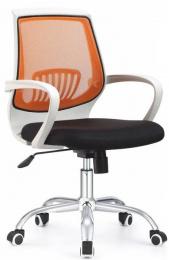 Kancelárska stolička LANCELOT, oranžová