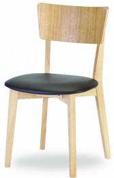 jedálenská stolička Dimmy dub masív-látka