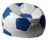 sedací vak EUROBALL velký, SK2-SK10 bílo-tm.modrý