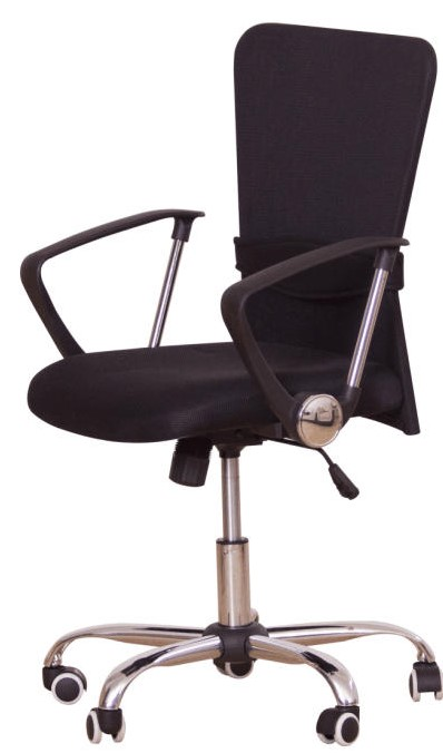 TEMPO KONDELA Kancelářská židle AEX, černá