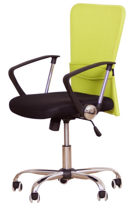 TEMPO KONDELA Kancelářská židle AEX, zelená