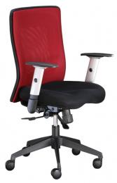 stolička LEXA bez podhlavníka,farba vínová