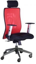Židle LEXA XL+3D podhlavník,vínová