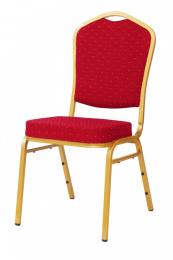 banketová stolička Standard Line ST220 červeno - zlatá