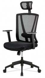 Kancelárska stolička KA-H110 BK