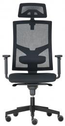 kancelárska stolička GAME ŠÉF, Synchro-SYNCHRO-skladová BLACK 27