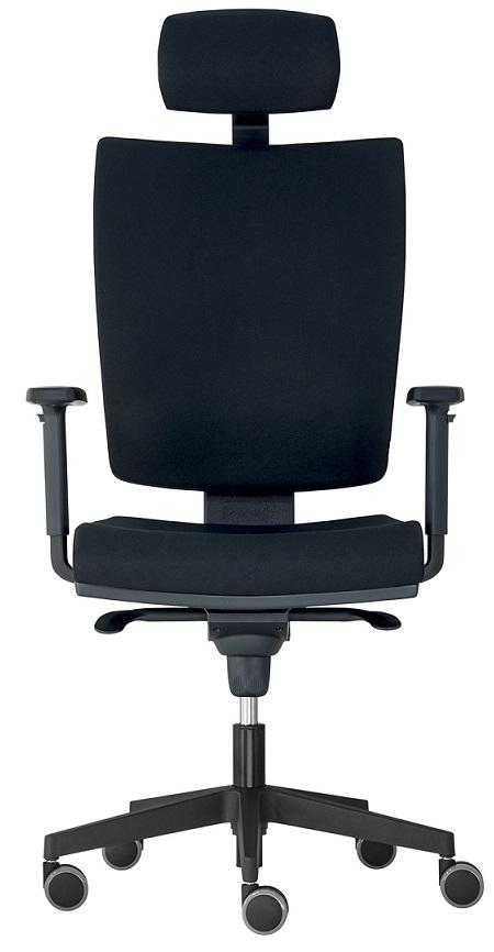 ALBA kancelářská židle LARA VIP,SYNCHRO-skladová BLACK 27