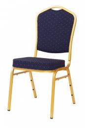 banketová stollička Standard Line ST370 modro - zlatá