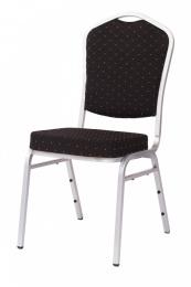 banketová stolička Standard Line ST370 čierno - strieborná