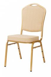 banketová stolička Standard Line ST314 béžovo - zlatá