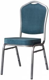 banketová stolička Standard Line  ST830 modro - strieborná