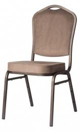 banketová stolička Standard Line ST870 svetlo hnedá - sivá