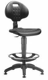 dielenská stolička 1290 PU MEK 4059
