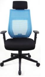 Kancelářská CELESTA modrá, sleva č. A1184.sek