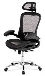 kancelárská stolička KA-A185 BK