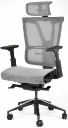 Kancelárská stolička MISSION šeda