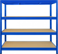 regál HEAVY RACK modrá 160x60 cm