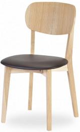Jedálenská stolička Robinson buk látka