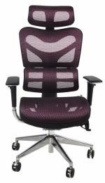 kancelárská stolička ARIES JNS-701, vínová W-16