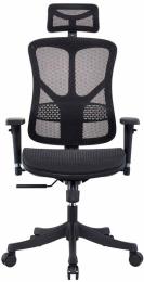 kancelárská stolička GEMINI JNS-526, čierna