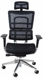 kancelárská stolička ORION JNS-801, čierna W-51