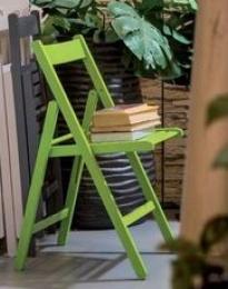 skládací stolička SMART zelená