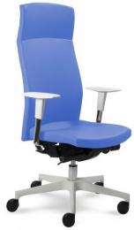 kancelárská stolička Prime 2304 W, biele prevedenie