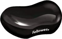 Podložka pod zápästie Fellowers CRYSTAL gélová čierna