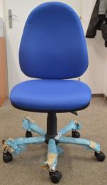 stolička PANTHER ASYN C D4 modrá, č. AOJ090