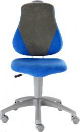 detská rastuca stolička FUXO V-line sv. zeleno-modrá